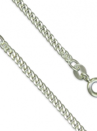 Sterling Silver heavier strong curb chain