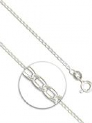 Sterling Silver LIght curb chain