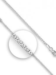 Sterling Silver fine wheat chain