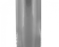 Mounted crystal Vase with silver